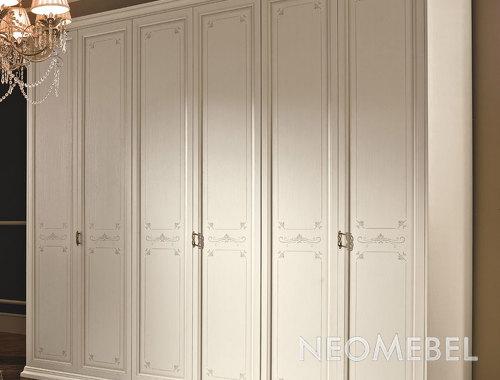 Гардеробный шкаф шестистворчатый, venier - afrodita, arb406 .